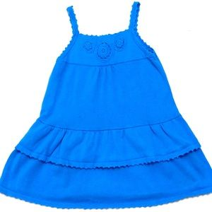 Gymboree Greek Isle Style dress 5T euc